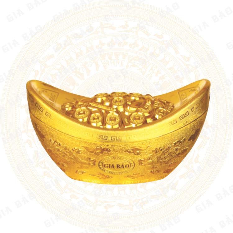 小型黄金元宝