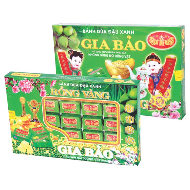 家宝 绿豆椰子饼GB25盒