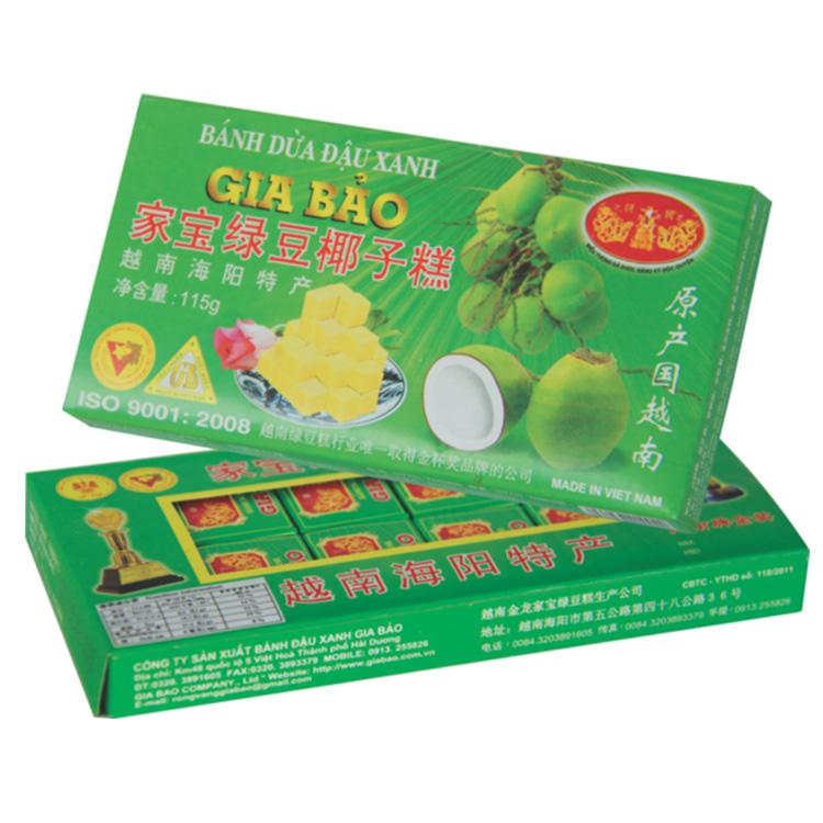 家宝绿豆 椰子饼115g盒